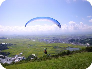 パラグライダー体験